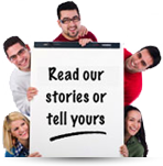 Share your story or read ours