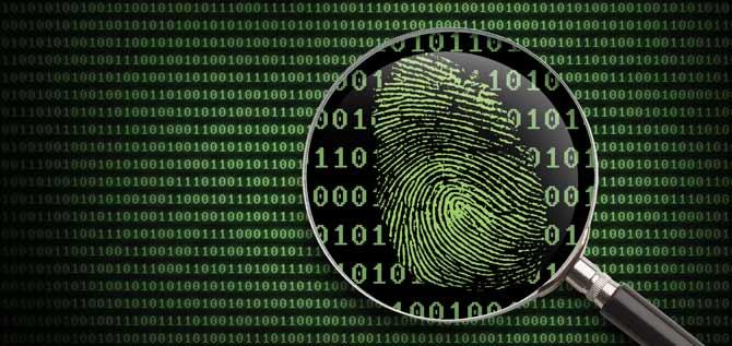 LiveScan Electronic Fingerprinting Device