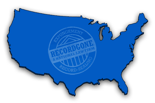 USA Map for Record Gone