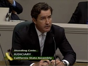 Mathew Higbee at the California State Assembly